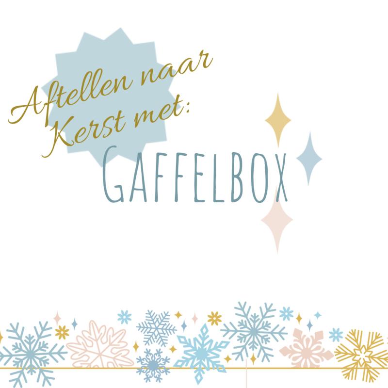 Aftellen naar Kerst met Gaffelbox - nog 6 weken