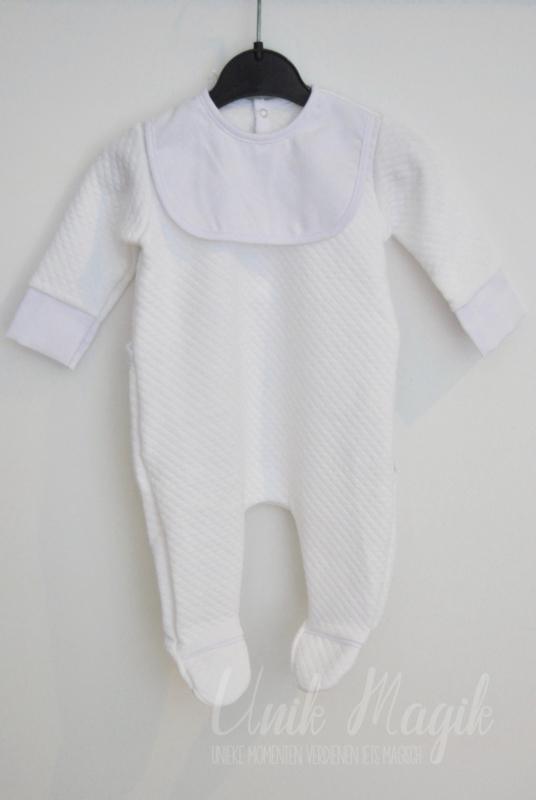 """Baby pyjama """"Noble white waffle"""""""