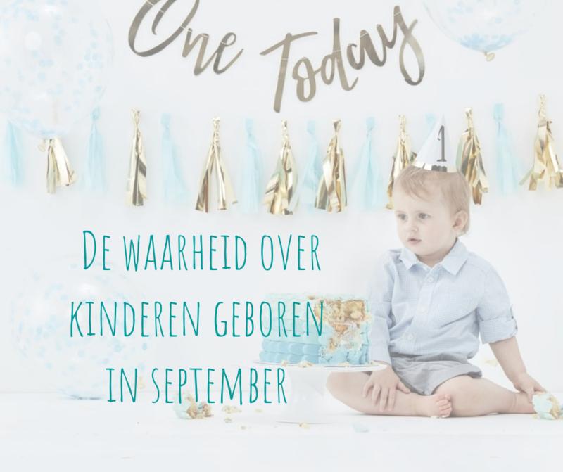 De waarheid over kinderen geboren in september