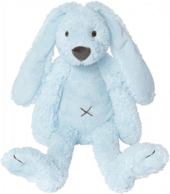 Knuffel konijn Richie lichtblauw