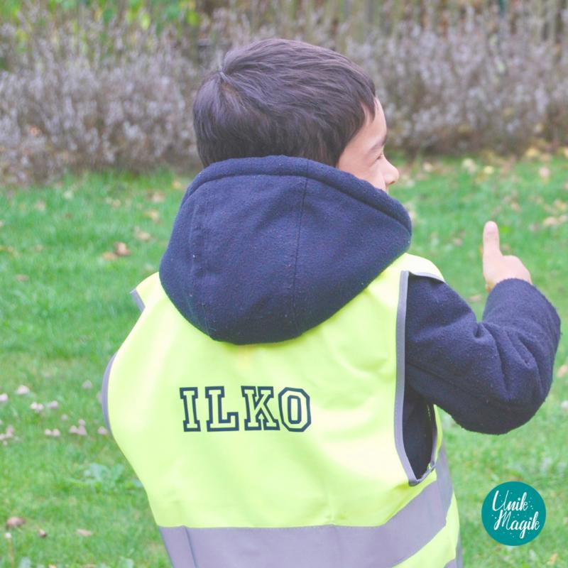 Fluo hesje small  7 - 9 jaar