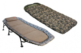 Zfish Camo Set Bedchair + Sleeping Bag