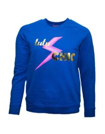 Cobalt sweater