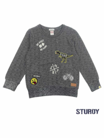 Sturdy Sweater Badges Black
