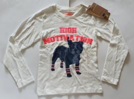 DJ Dutchjeans shirt 23675 Off White