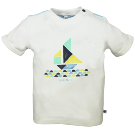 Ducky Beau Short Sleeve White