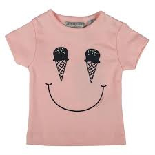 Zero2three Tshirt Icecream Pink
