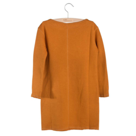 Little Hedonist - Dress Jacky Pumpkin Spice