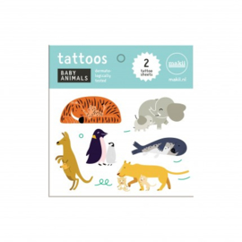Makii Baby Animals Tattoos