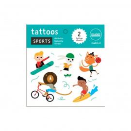 Makii Sports Tattoos