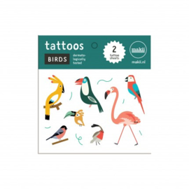 Makii Birds Tattoos