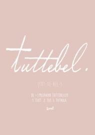 Poster Tuttebel