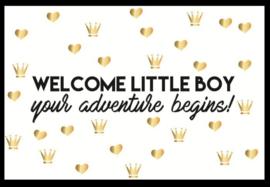 Kaart it's a boy