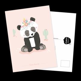 Ansichtkaart Panda