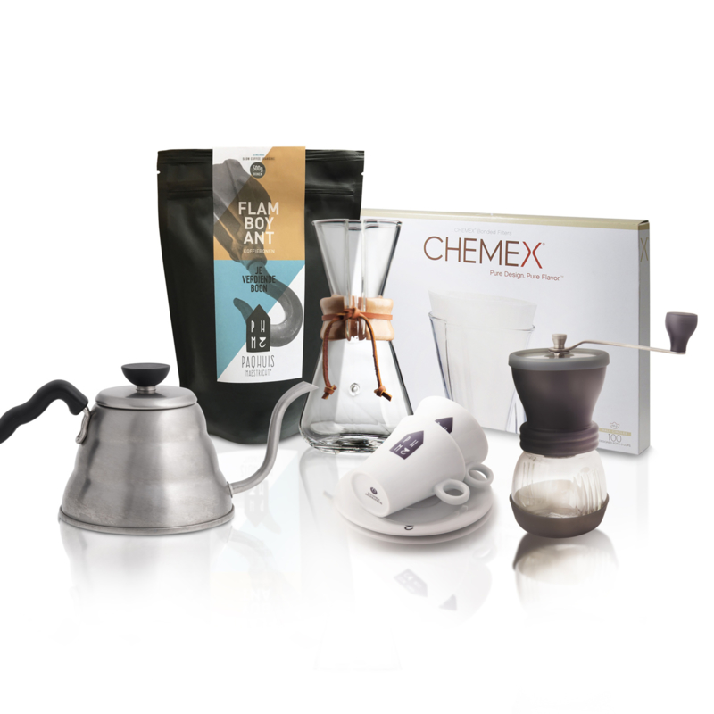 Chemex Medium Pakket (Slow Coffee)