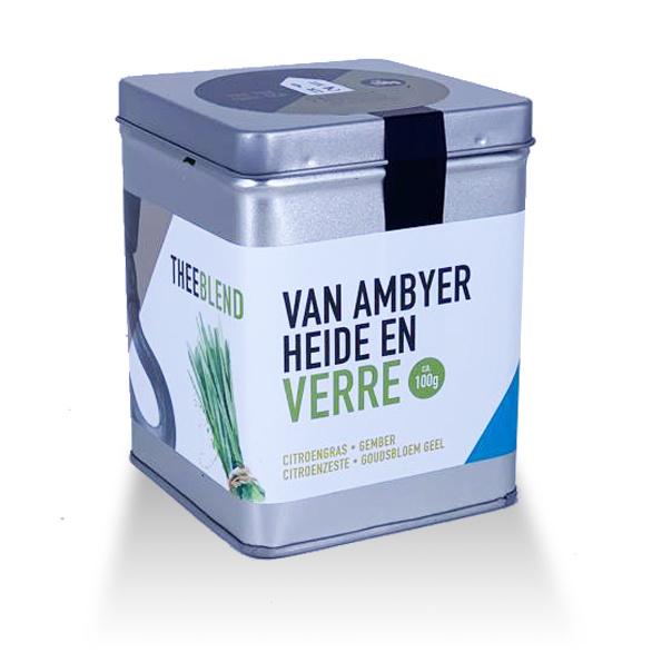 Paqhuis Thee Van Ambyer Heide en Verre blik 100 gram