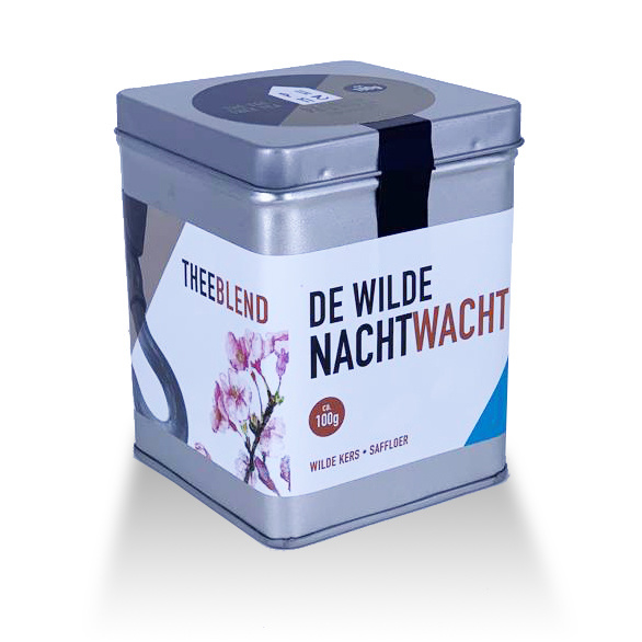 Paqhuis Thee Wilde Nachtwacht blik 100 gram