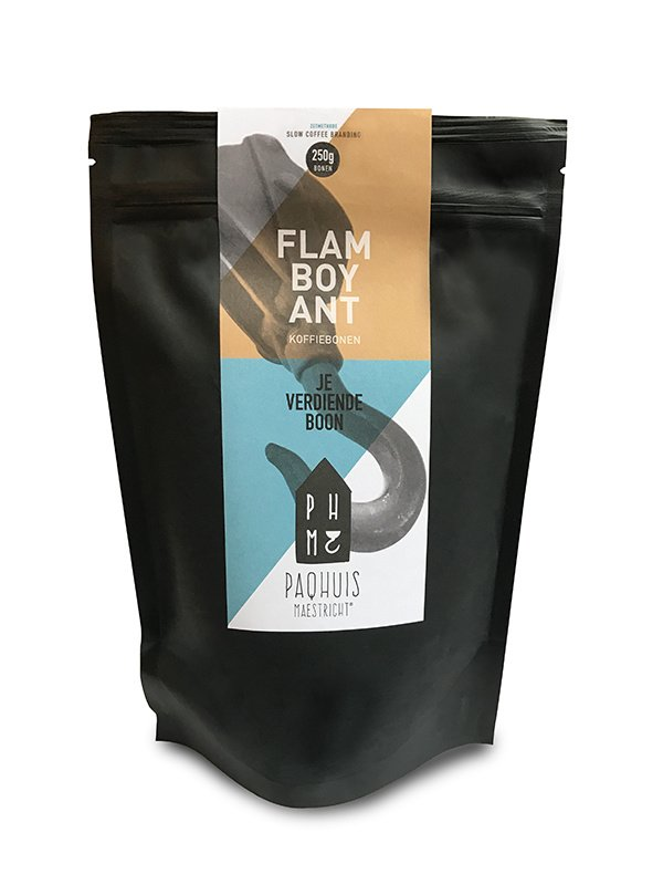 Flamboyant Slow Coffee bonen 250 gram