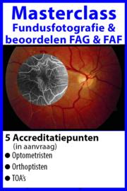 Masterclass Fundusfotografie en beoordelen FAF en FAG