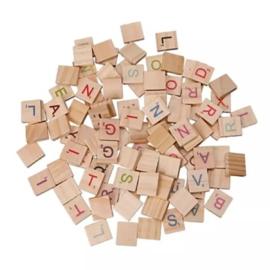 Scrabble letters (complete set)