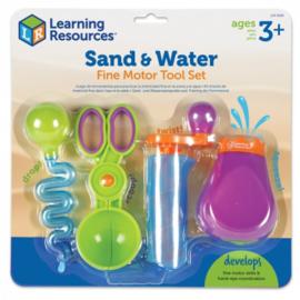 Fijne motoriek zand en water set  (set van 4)