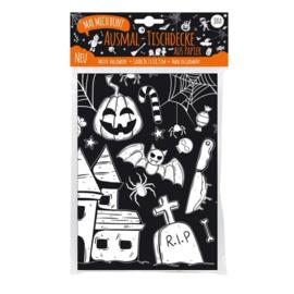 Jeka Inkleurbaar tafelkleed - Halloween