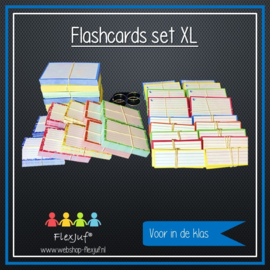 Flashcards set XL