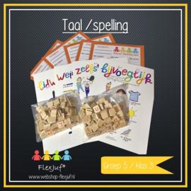 Instructieset taal/spelling groep 5
