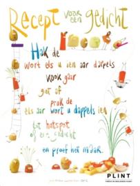 Poster - Recept voor een gedicht (80x60cm)