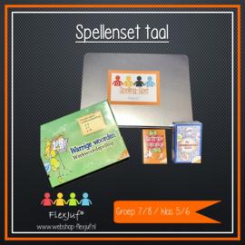 Spellenset Taal/(werkwoord)spelling groep 7/8