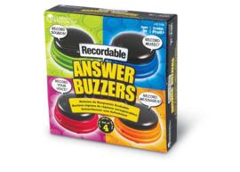 Antwoord buzzers met opneemfunctie (set van 4)