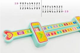 Schuifmaat rekenen - splitsingen van 10