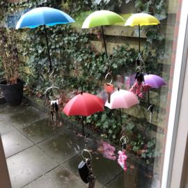 Sleutelrekje - paraplu's