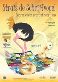 Struis de Schrijfvogel - Jaarkalender creatief schrijven