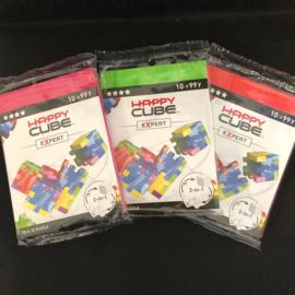 Happy Cube Expert - set van 3 (rood, groen, fuchsia)