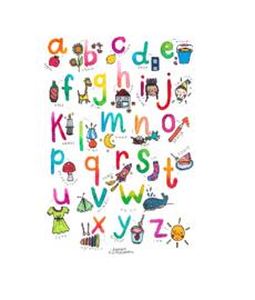 A4 poster - Onderbouw - het Alfabet - Klassenset (15 st.)