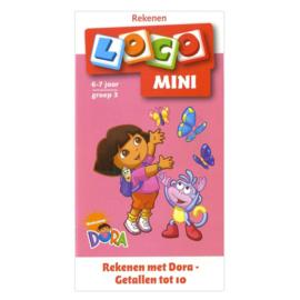 Loco Mini - groep 3 - Rekenen met Dora en Diego - getallen tot 10