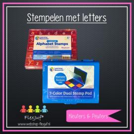 Stempelen met letters (XL)