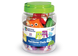 Snap-n-Learn™ Rainbow Owls