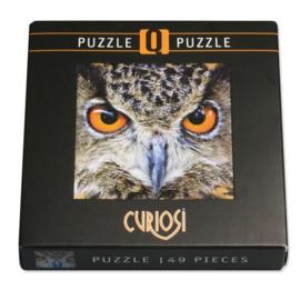 Curiosi Q-puzzel (extra moeilijk)  - Uil (66 stukjes)