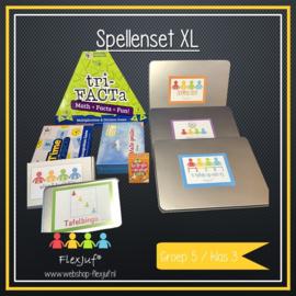 Spellenset XXL Taal , spelling en rekenen groep 5