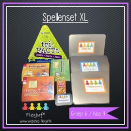 Spellenset XXL Taal , spelling en rekenen groep 6