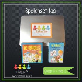 Spellenset taal/spelling groep 4