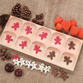 Houten sorteer tray (met 10 vakken)