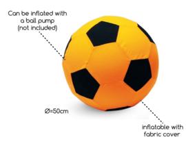 Stoffen bal XL