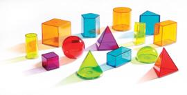 Geometrische figuren - transparant (set van 14)