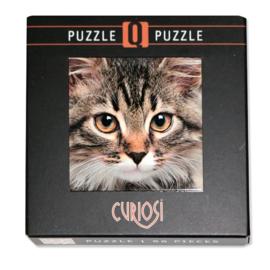 Curiosi Q-puzzel (extra moeilijk)  - Kat (66 stukjes)