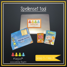 Spellenset taal/spelling groep 5