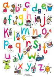 A3 poster - Onderbouw - het Alfabet