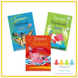 Zomer TOPboek - Start (groep 3) nummer 1, 2 en 3